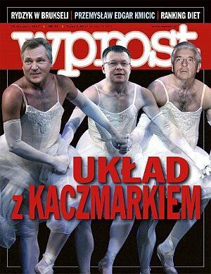 Okładka tygodnika Wprost nr 34/2007 (1287)