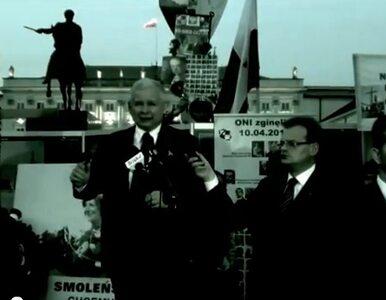 Ruch Palikota reklamuje się... wizerunkiem Kaczyńskiego (wideo)