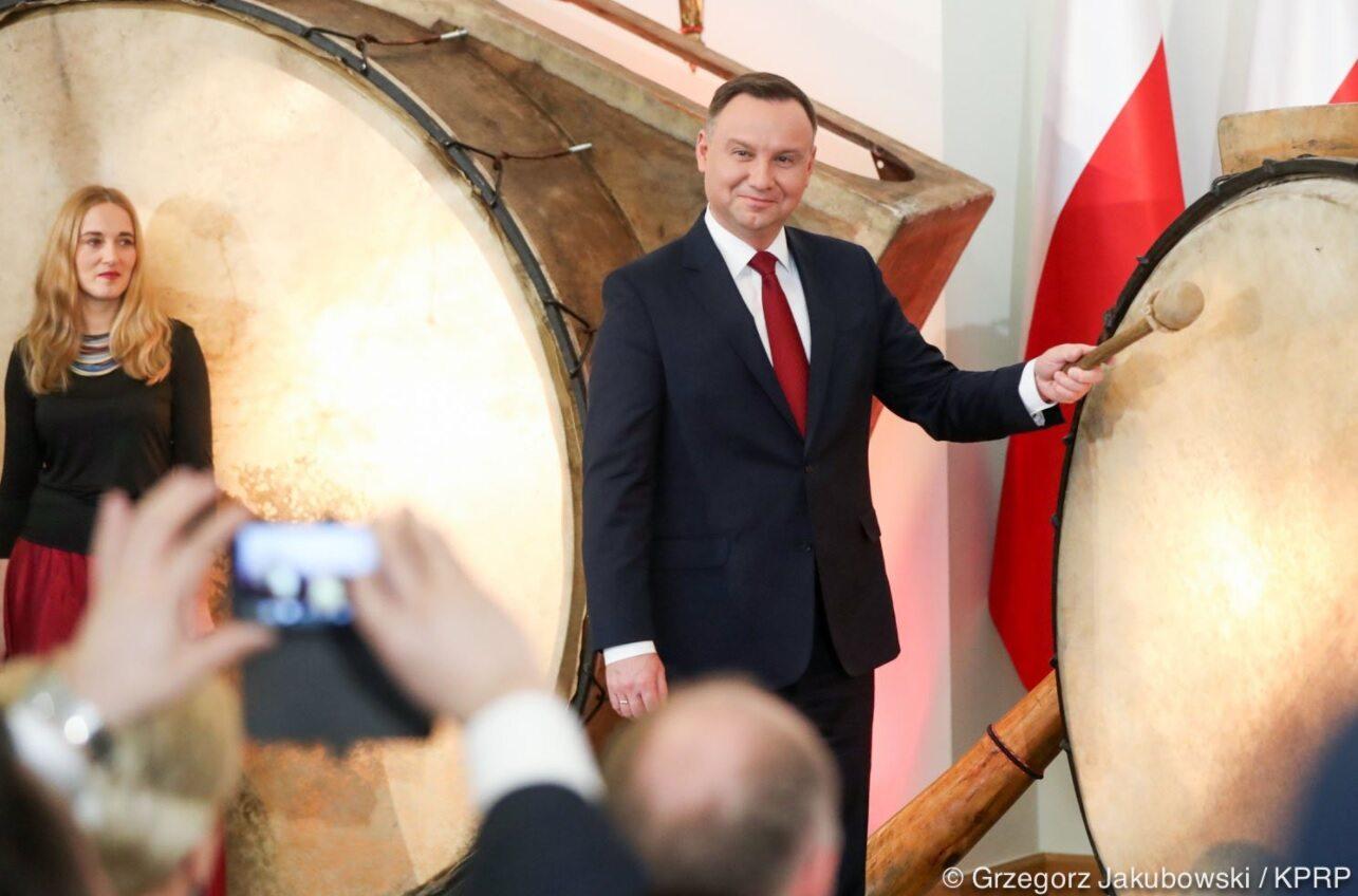 """Andrzej Duda wybił """"puls niepodległości"""""""