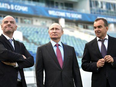 Putin zdał raport z przygotowań do mundialu. Co na to prezydent FIFA?