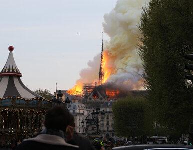 """""""Relikwie ocalały"""". Mer Paryża pokazała zdjęcie"""