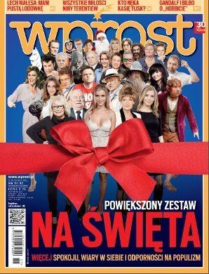 Okładka tygodnika Wprost nr 51/2012 (1557)