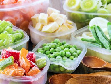 Mrożenie owoców i warzyw