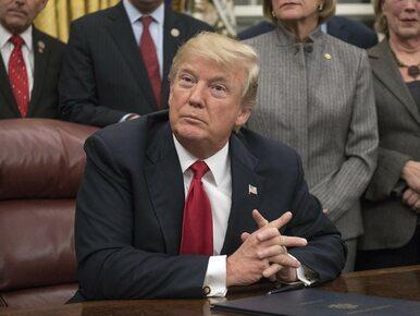 """Zaskakujący wywiad Trumpa dla """"Wall Street Journal"""". Deklaruje """"bardzo..."""