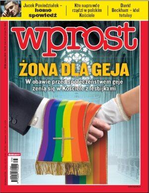 Okładka tygodnika Wprost nr 35/2010 (1438)