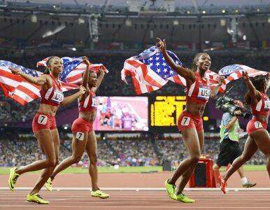 Niesamowity wynik amerykańskiej sztafety - mają złoto i rekord świata!