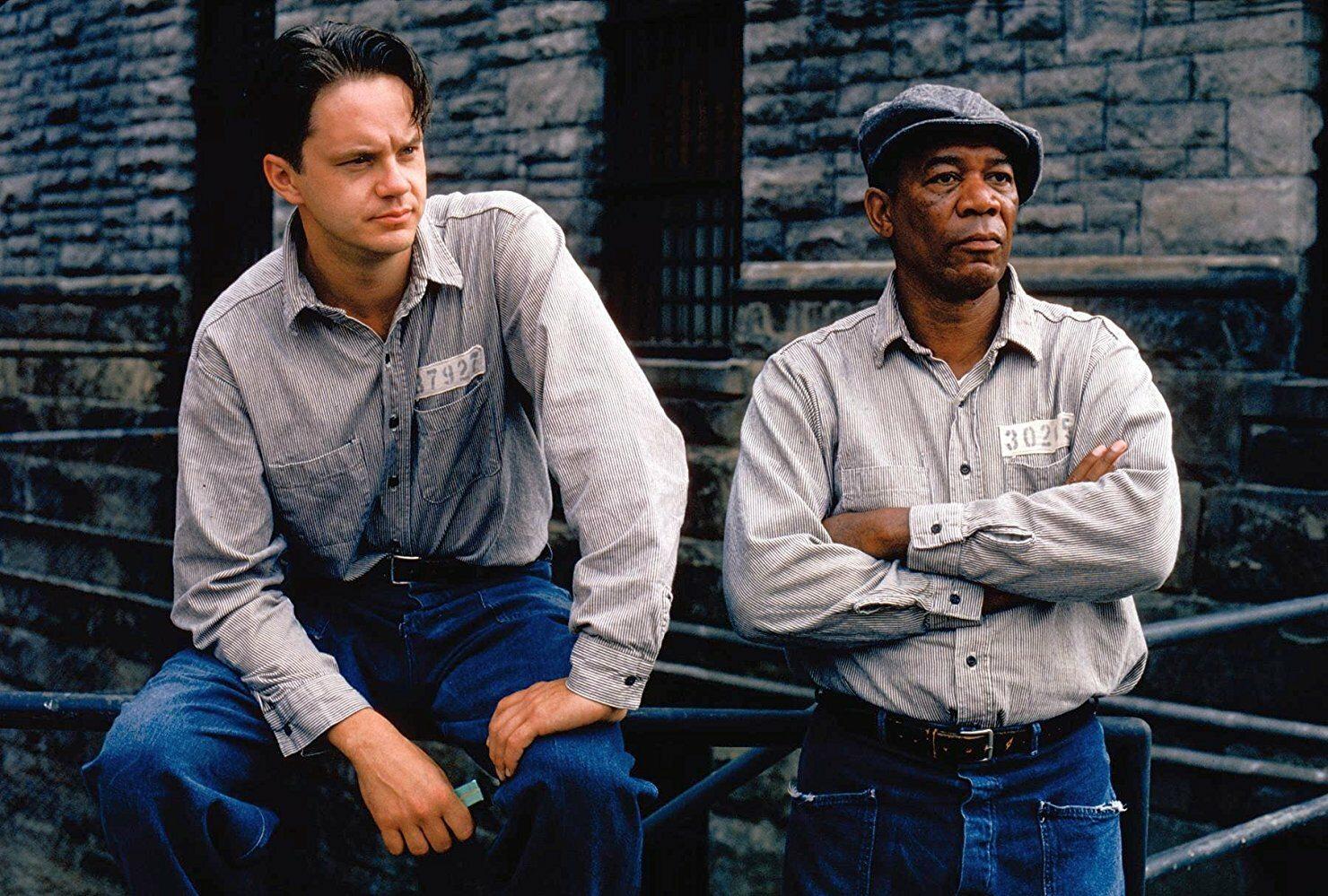 """Kadr z filmu """"Skazani na Shawshank"""" (1994)"""