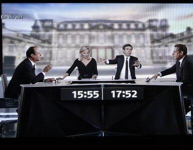 Sarkozy atakował, Hollande się obronił. Losy prezydentury są już...