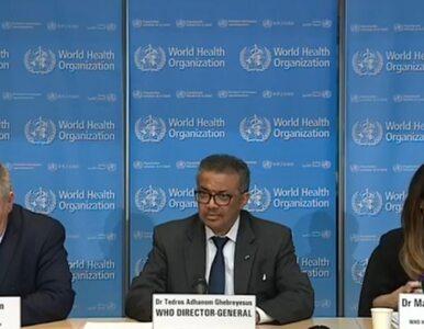 WHO: Europa jest nowym epicentrum pandemii koronawirusa