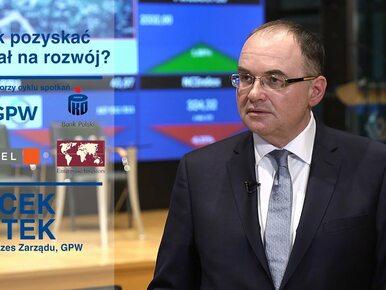Jak pozyskać kapitał na rozwój: Jacek Fotek, GPW