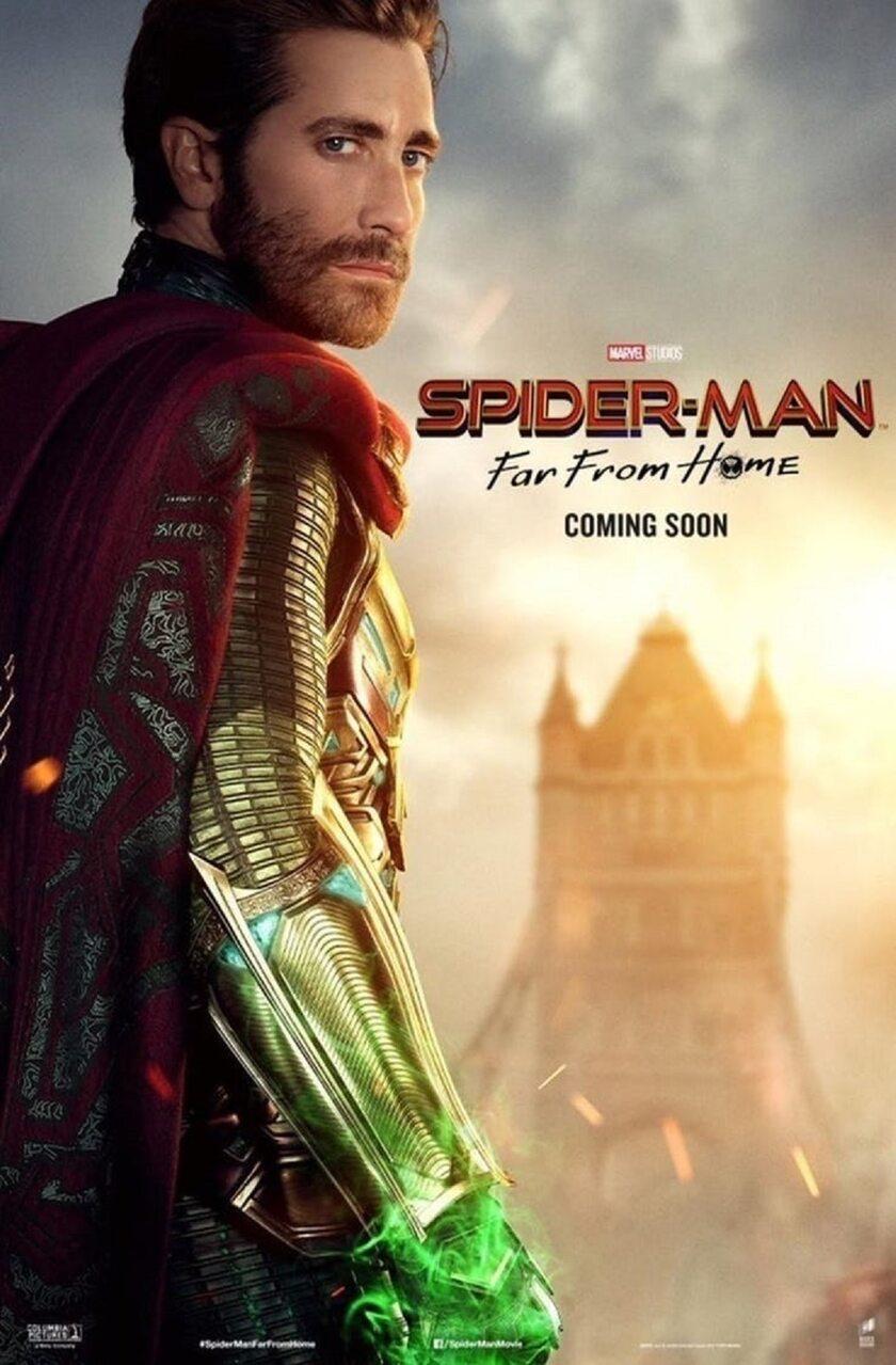 Jake Gyllenhaal jako Quentin Beck/Mysterio
