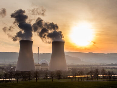 Rozszczelnienie w elektrowni atomowej na Ukrainie. Jeden z bloków został...