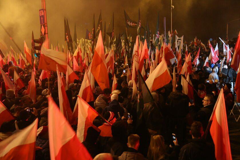 Marsz z okazji 100-lecia polskiej niepodległości