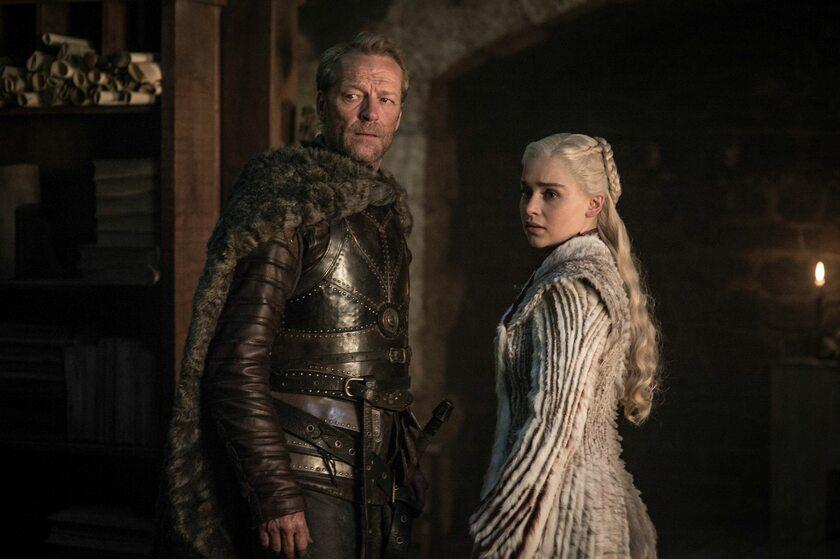 """Scena z 8. sezonu """"Gry o tron"""""""