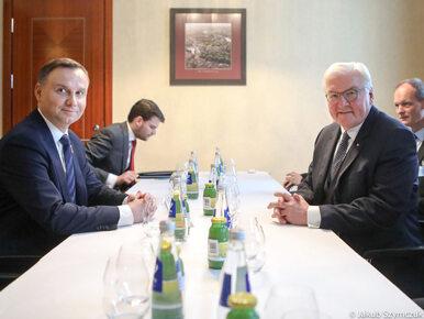 Andrzej Duda rozmawiał z prezydentem Niemiec. Byli zgodni w kwestii...