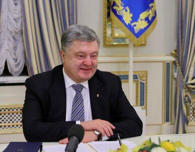 """Poroszenko komentuje wyborczą porażkę i mówi o """"europejskich standardach"""""""