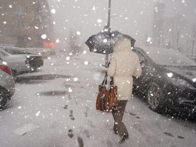 Front atmosferyczny nad Polską. Spadnie śnieg