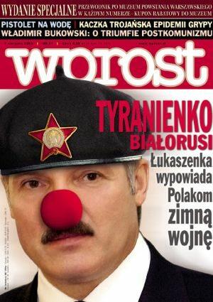 Okładka tygodnika Wprost nr 31/2005 (1183)