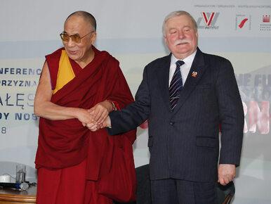 Lech Wałęsa potwierdza: We wrześniu spotkam się z Dalajlamą