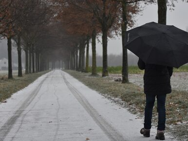 Marznący deszcz ze śniegiem. IMGW wydało ostrzeżenia dla kilku województw