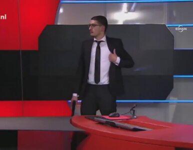 Uzbrojony napastnik wtargnął do siedziby holenderskiej telewizji NOL