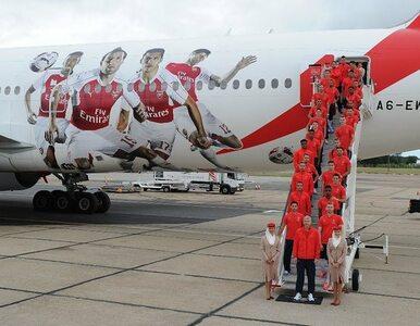 Linie Emirates prezentują samolot w barwach Arsenalu