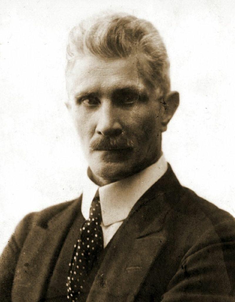Ignacy Daszyński, zdj. z 1915 roku