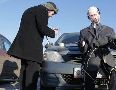 """Moskwa: kierowcy protestowali przeciwko wyborczym fałszerstwom. """"Rosja..."""