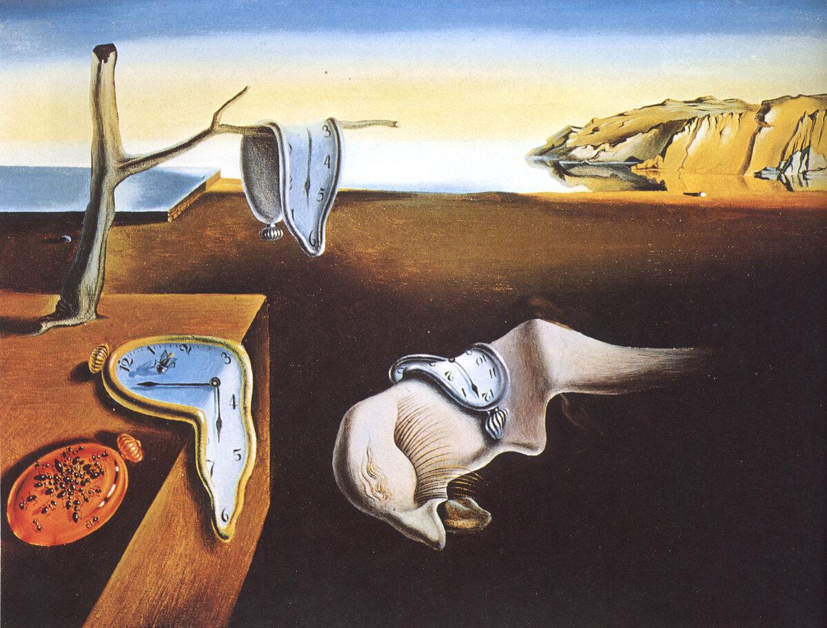 """Salvador Dali """"Trwałość pamięci"""" 1931 r."""