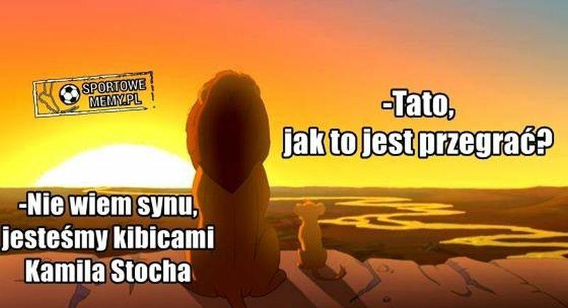 Mem po tryumfie Kamila Stocha