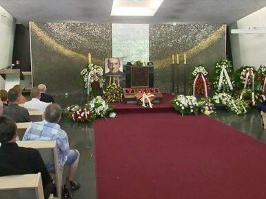 Pogrzeb Tomasza Stańki na Powązkach Wojskowych w Alei Zasłużonych