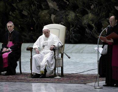 """""""Stanęliśmy twarzą w twarz z tajemnicą zła"""". Papież o """"narzędziach..."""