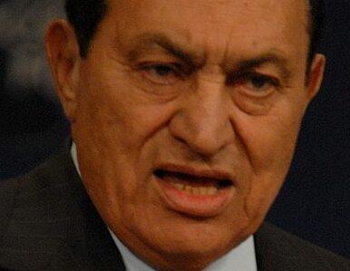 Mubarak w śpiączce?