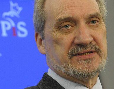 Macierewicz pisze do Tuska. Domaga się wznowienia prac komisji Millera
