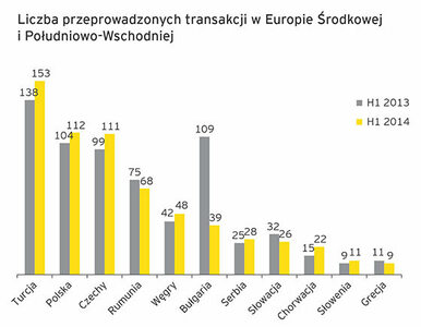 Raport EY: Polska na drugim miejscu w Europie Środkowej i...