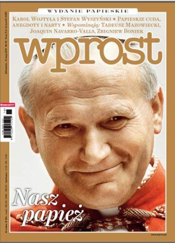 Okładka tygodnika Wprost nr 18/2011 (1473)