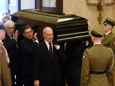 Macierewicz o Olszewskim: Jesteśmy mu winni wielki hołd za całe jego życie