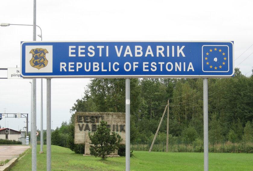 Granica Estonii