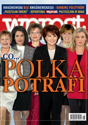 Okładka tygodnika Wprost nr 48/2003 (1096)