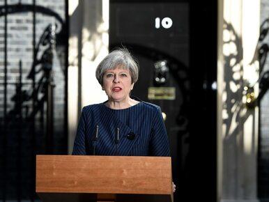 Theresa May oskarża unijnych polityków o próby wpływania na wynik wyborów