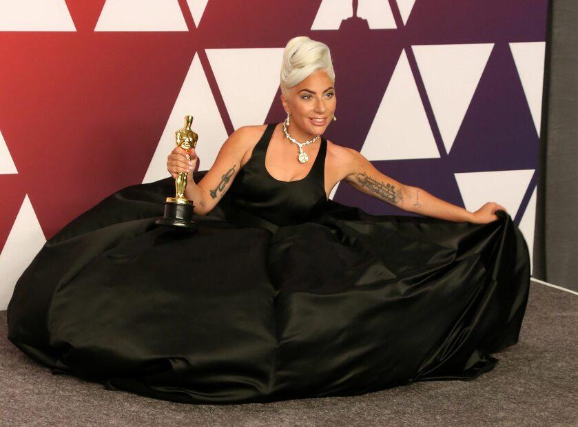 Lady Gaga z Oscarem