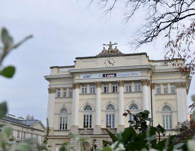 Uniwersytet Warszawski skończył 200 lat