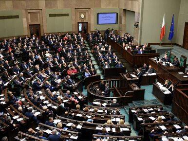 Trzech posłów ukaranych za naruszenie powagi Sejmu. Jednego z nich nie...