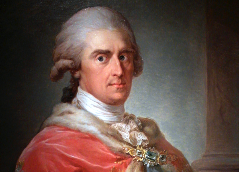 Fryderyk August, książę warszawski, obraz pędzla Marcello Bacciarellego z ok. 1808-1809 roku