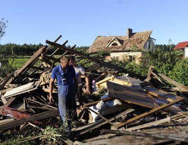 Trąby powietrzne demolują Polskę (GALERIA)