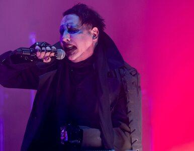 Marilyn Manson miał wypadek w trakcie koncertu. Przygniotła go dekoracja