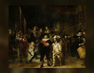 """Obraz Rembrandta """"The Night Watch"""" będzie odnawiany na publicznej wystawie"""