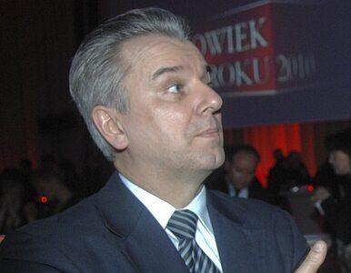 Grabarczyk: Doceniam jego kompetencje i wiedzę, ale nie będziemy...