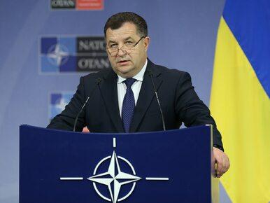 """Stepan Połtorak, minister obrony Ukrainy, złożył dymisję. """"Szanuję..."""