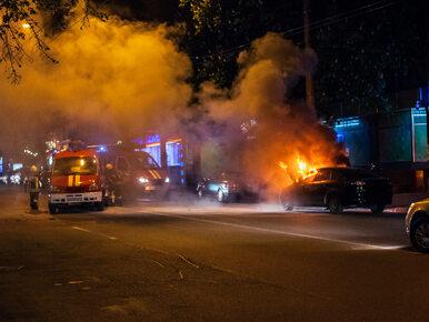 Chełmno. Wandal podpalił 10 samochodów. Ma 14 lat